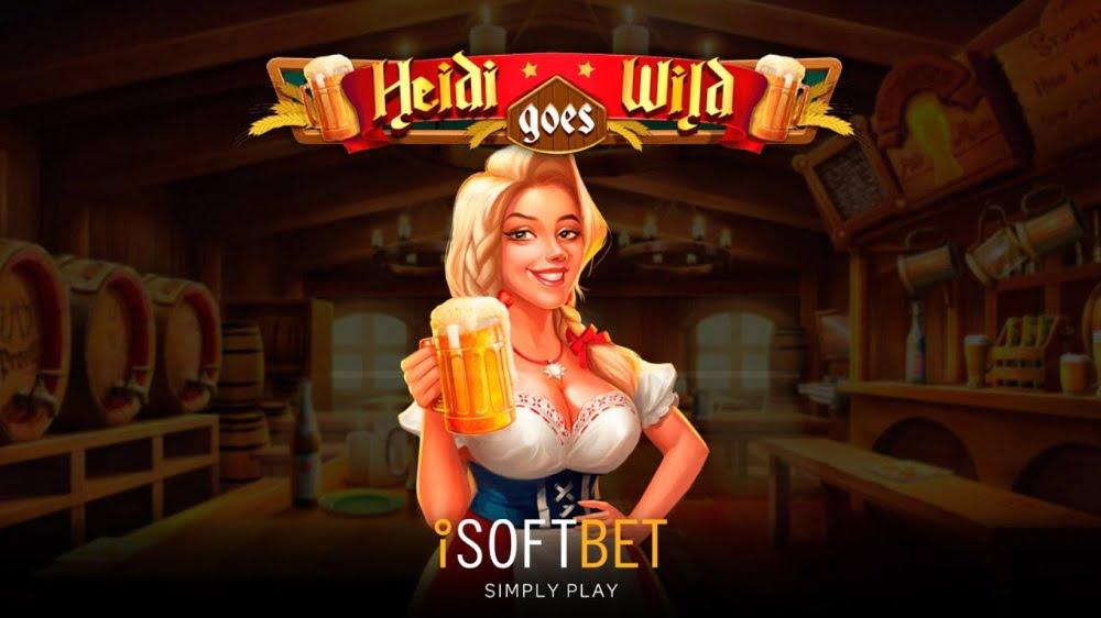 heidi goes wild slot by isoftbet