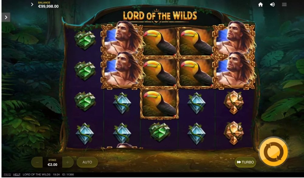 lord of the wilds slot by red tiger