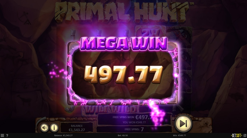 primal hunt slot by betsoft