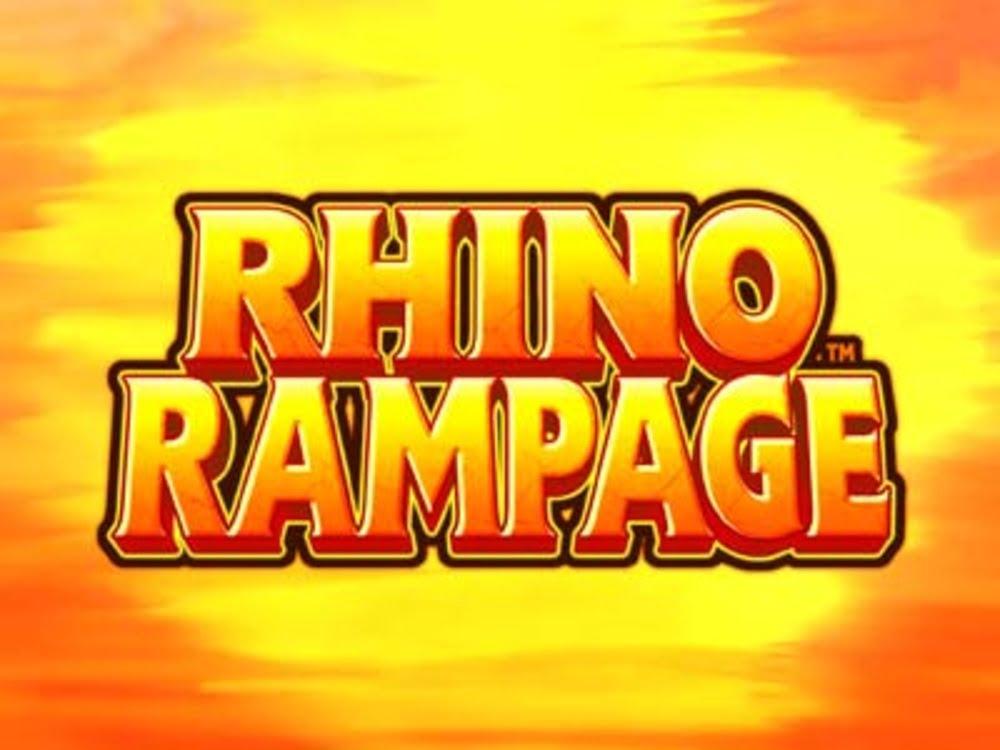 rhino rampage slot by blueprint gaming