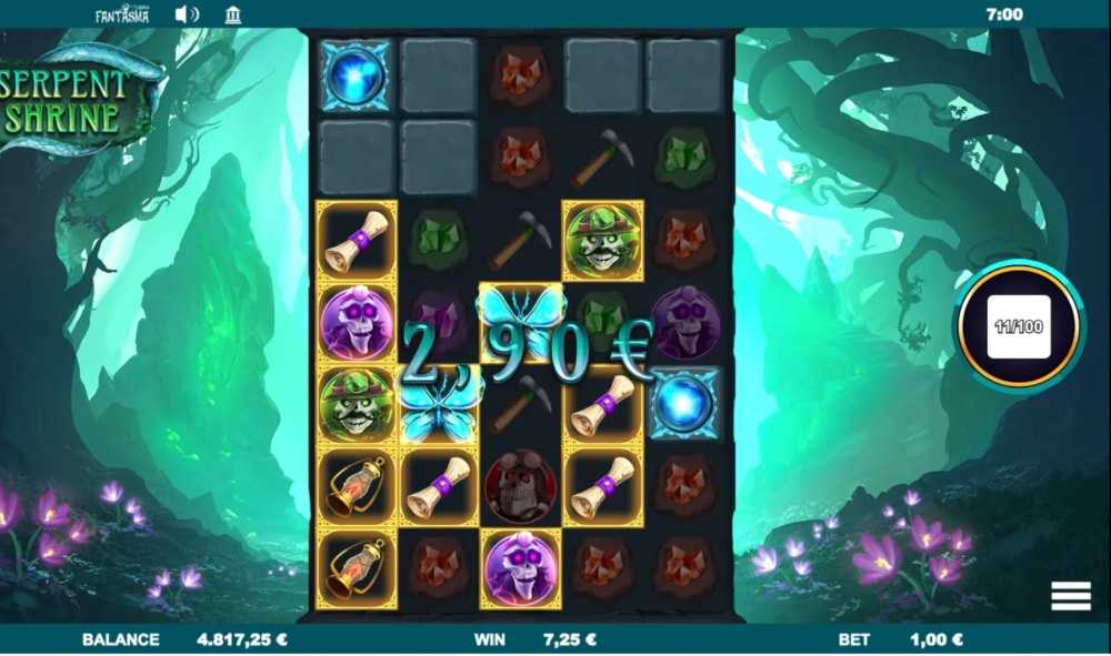 serpent shrine slot by fantasama gaming