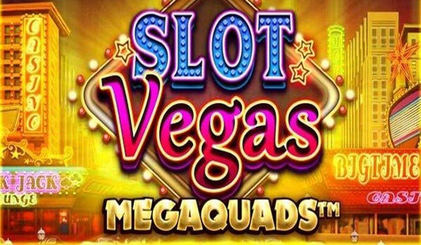 slot vegas megaquads slot by big time gaming