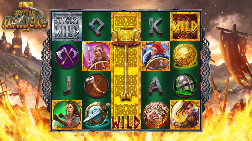 battle maidens slot by 1x2 betwork