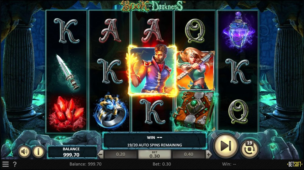 book of darkness slot by betsoft