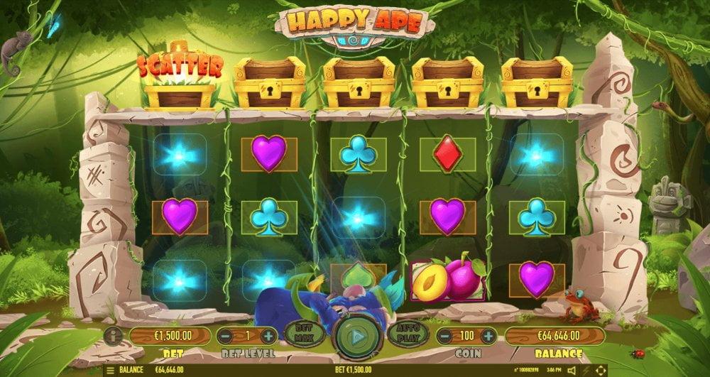 happy ape slot by habanero