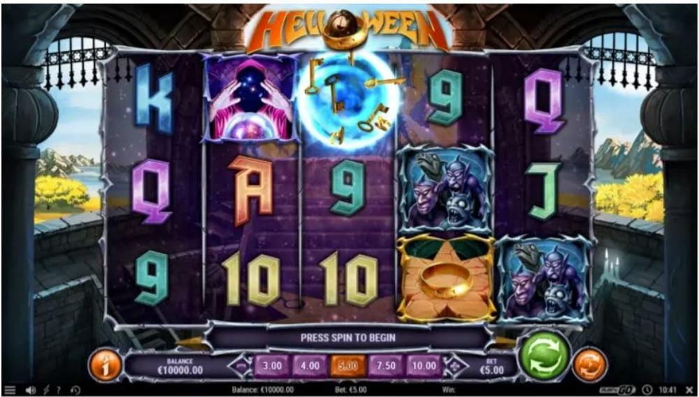 helloween slot by play n go