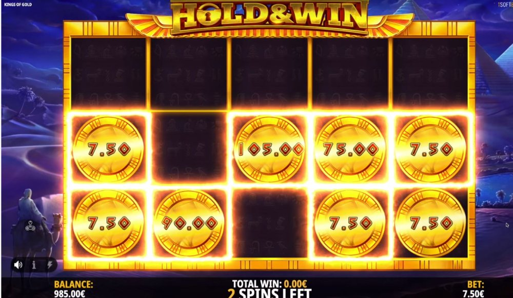 kings of gold slot by isoftbet