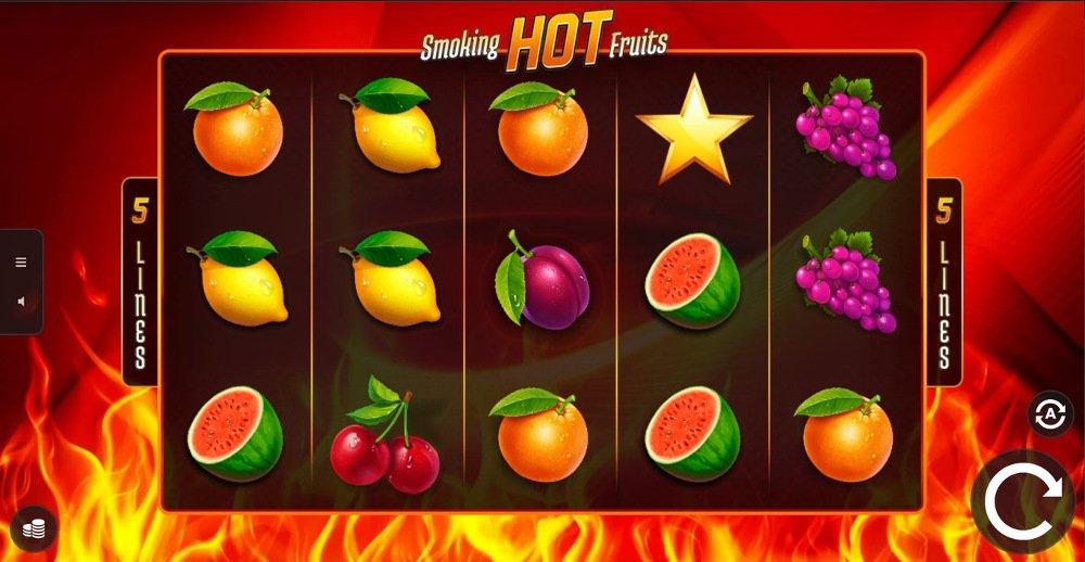 smoking hot fruits slot by 1x2 gaming