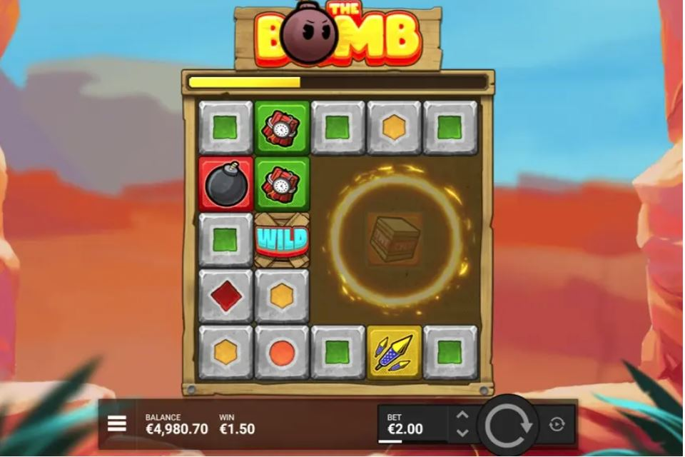 the bomb by hacksaw gaming