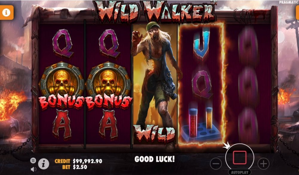 wild walker slot by pragmatic play