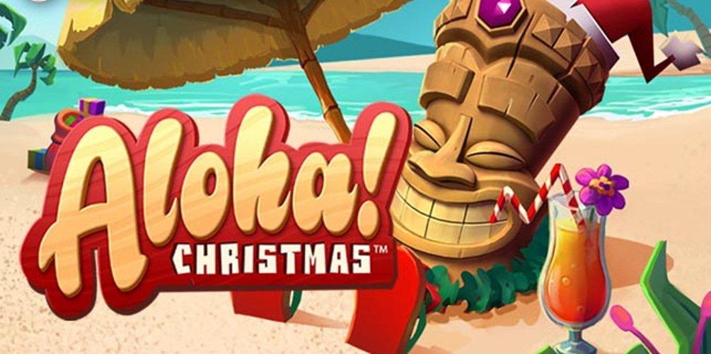 aloha chriostmas edition slot by netent