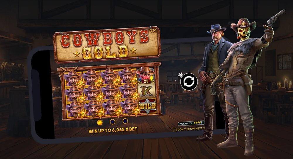 cowboys gold slot by pragmatic play