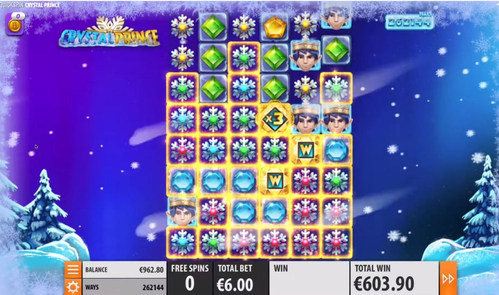 crystal prince slot by quickspin