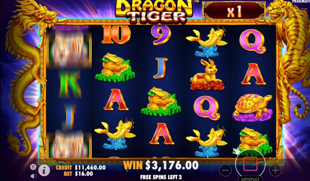 dragon tiger slot by pragmatic play