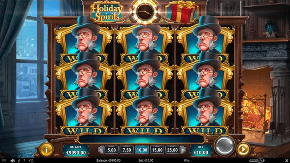 holiday spirits slot by play n go