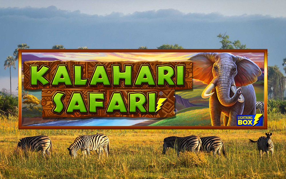 kalahari safari slot by lightning box