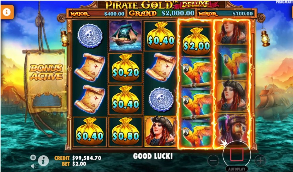pirate gold deluxe by pragmatic play