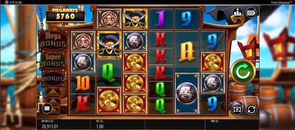 pirates bounty slot by blueprint gaming