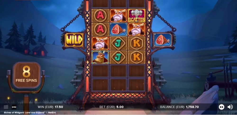 riches of migard slot by netent