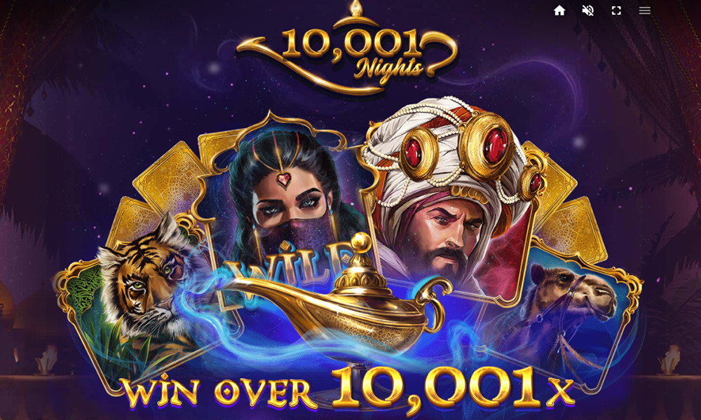 10001 nights slot by red tiger gaming