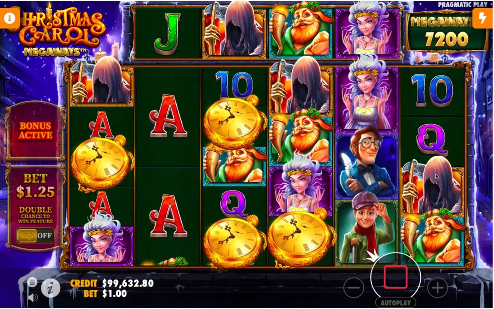 christmas carol megaways slot by pragmatic play