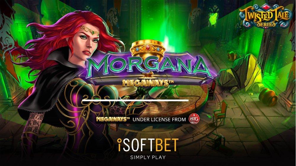 morgana megaways slot by isoftbet