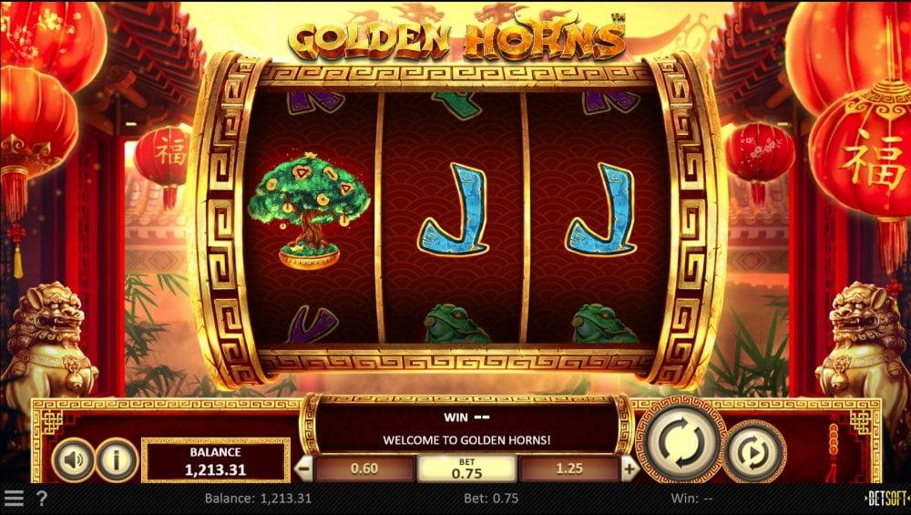golden horns slot by betsoft