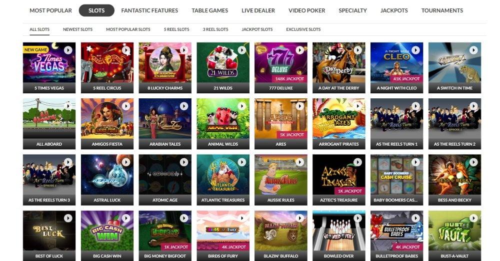 slots lv games