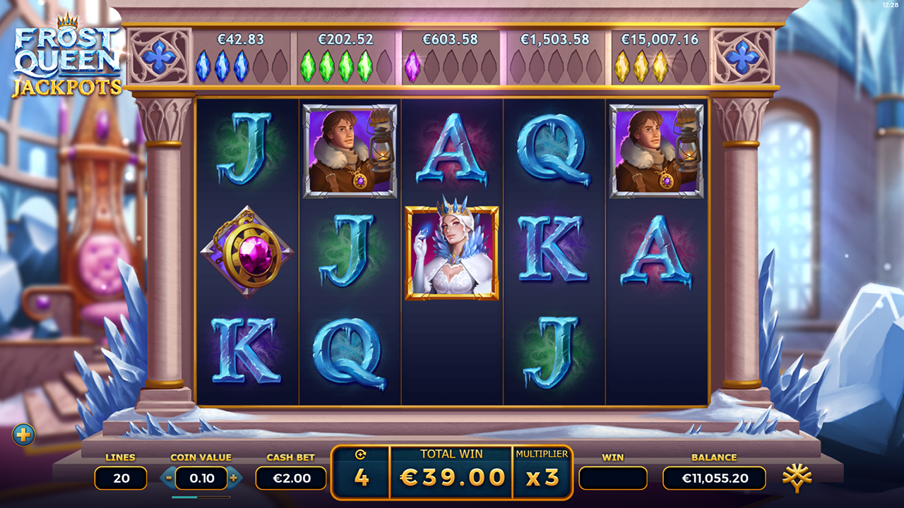 Frost Queen Jackpots by yggdrasil gaming