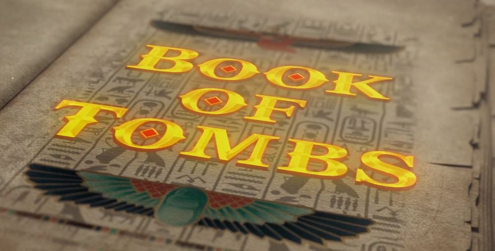 book of tombs slot by booming games