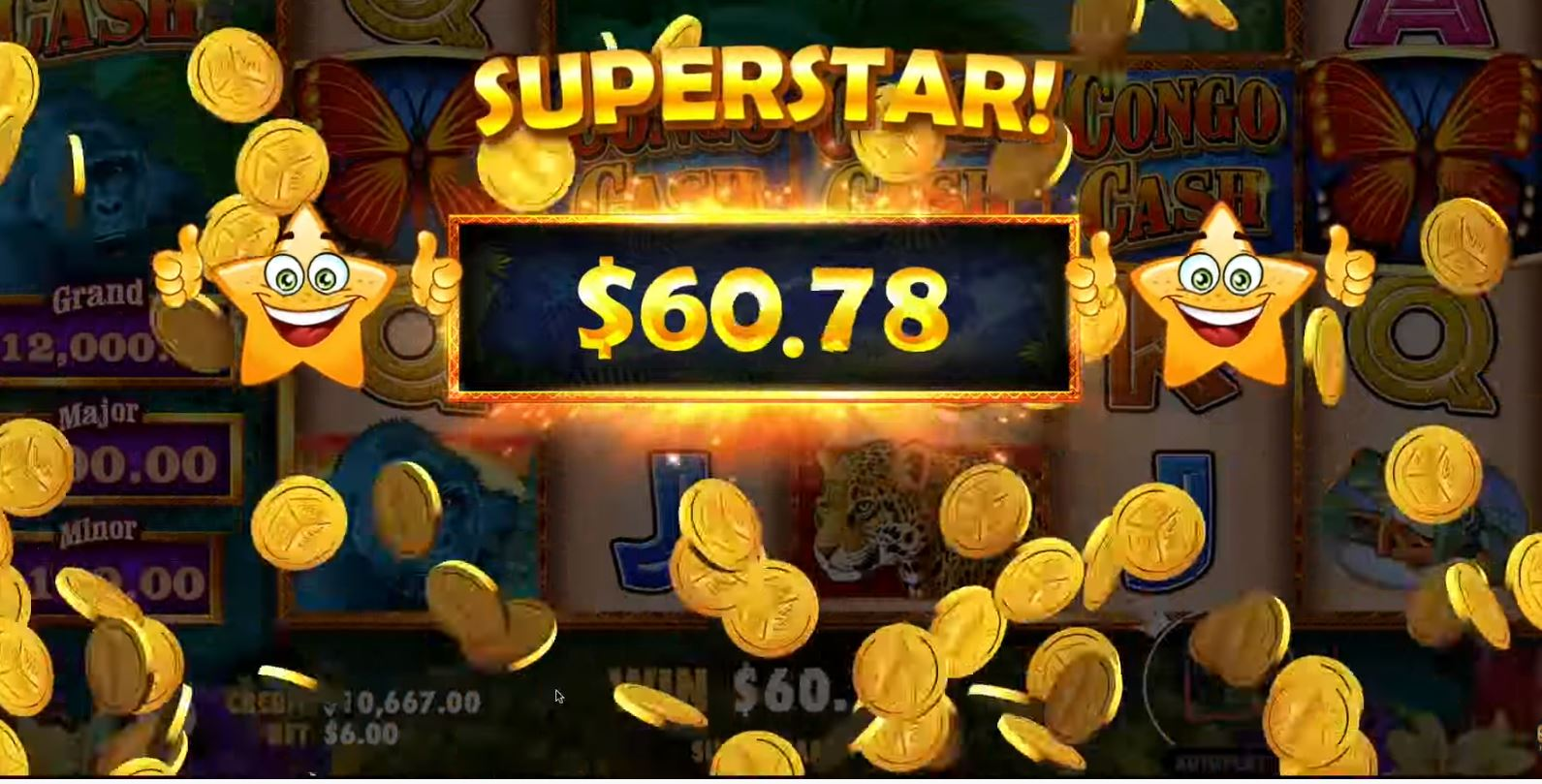 congo cash slot by pragmatic play
