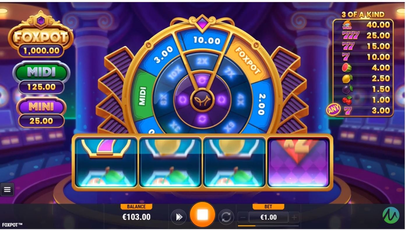 foxpot slot by microgaming