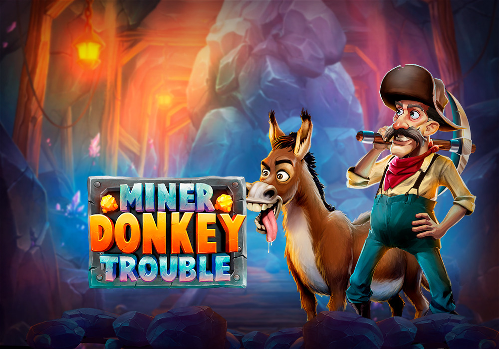 miner donkey trouble slot by play n go