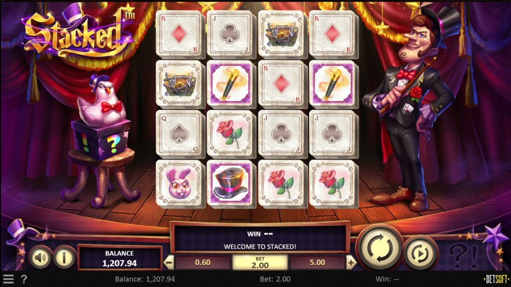 stacked slot by betsoft