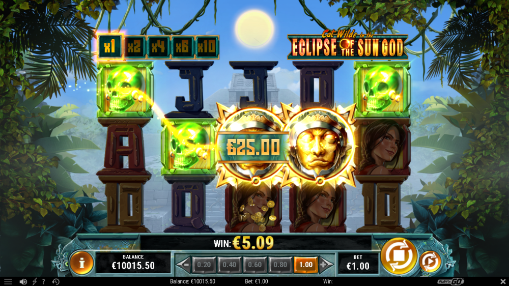 Cat Wilde In the Eclipse of the Sun God Slot by play n go