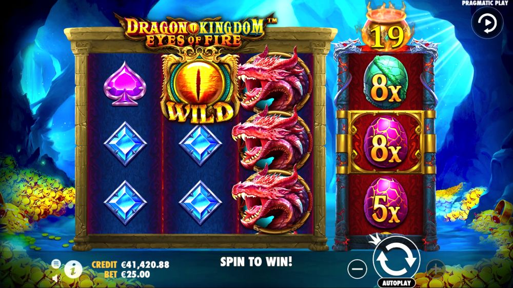 Dragon Kingdom Eyes of Fire slot