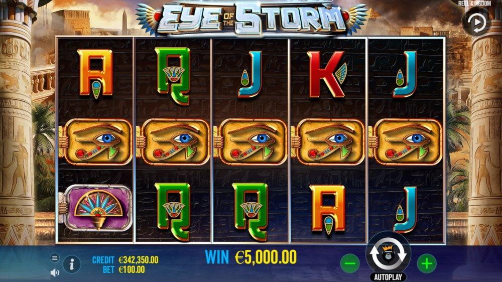Eye of the Storm Slot by pragmatic play