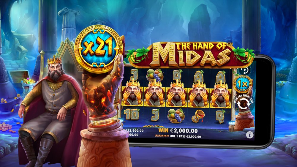 The Hand of Midas by pragmatic play