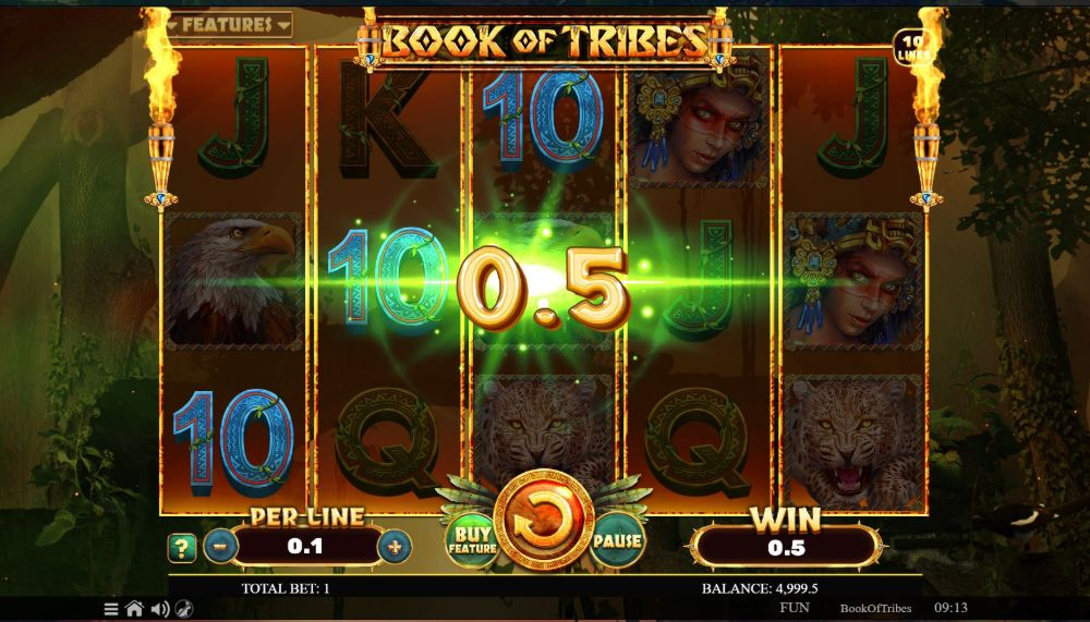 book of tribes slot by spinomenal