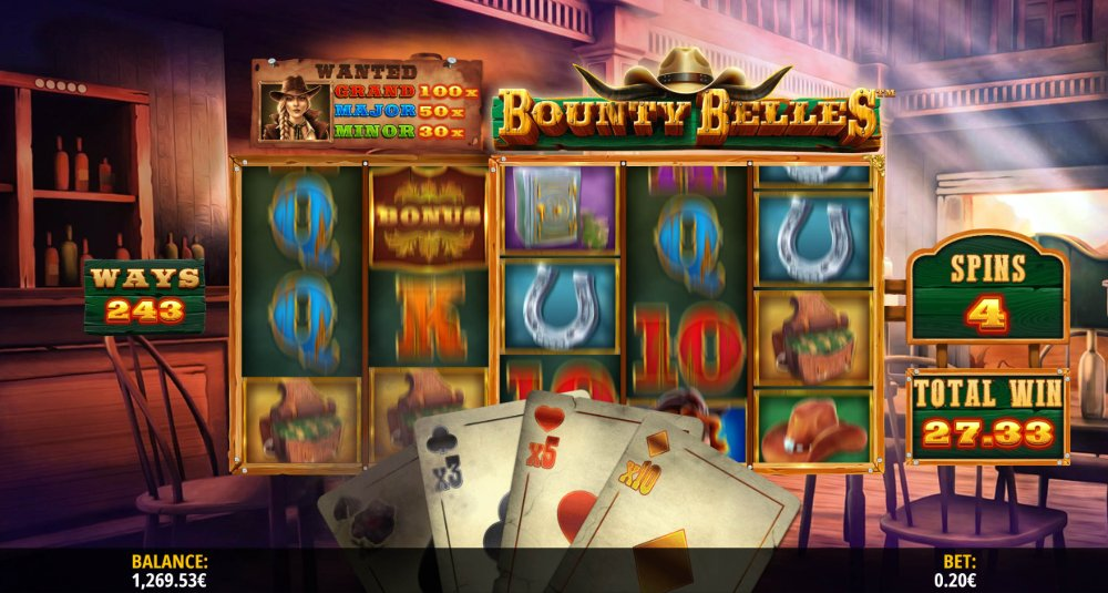 bounty belles slot by isoftbet