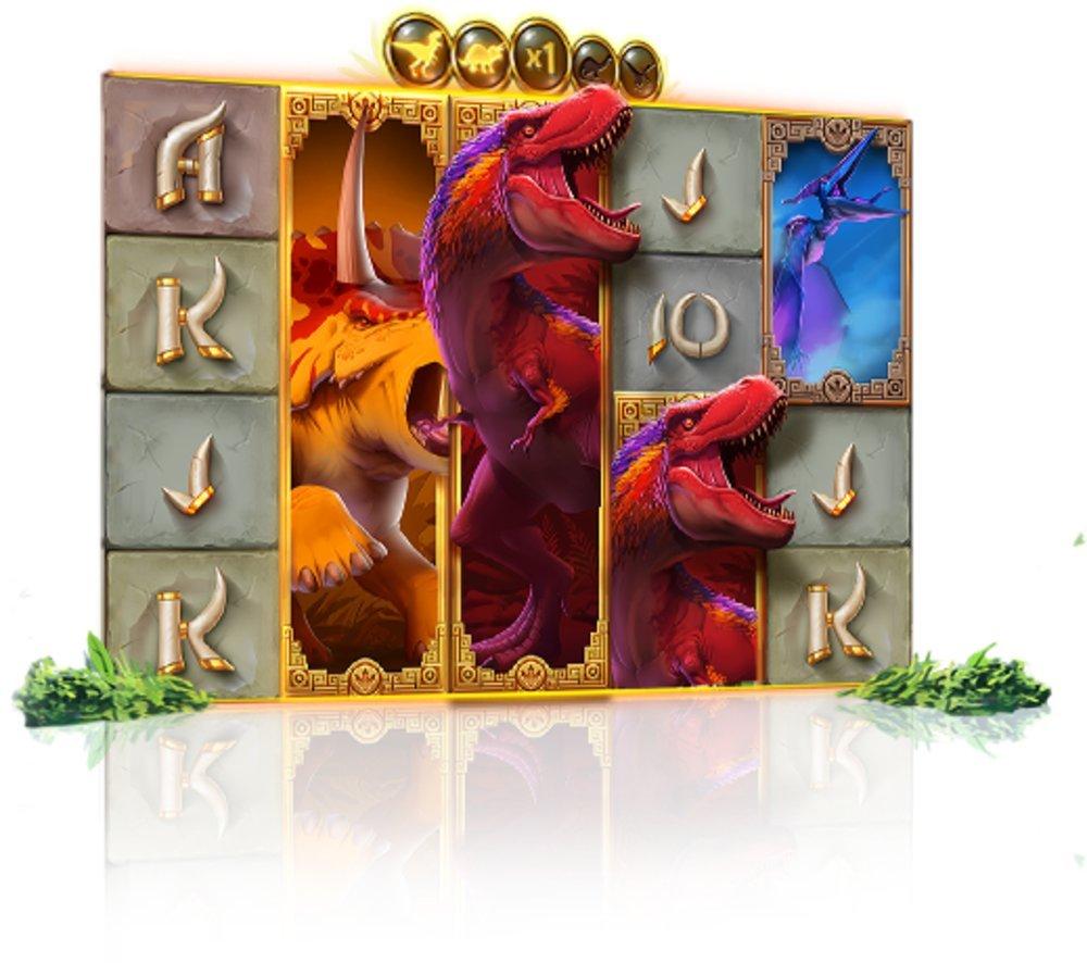 dinosaur rage slot by quickspin