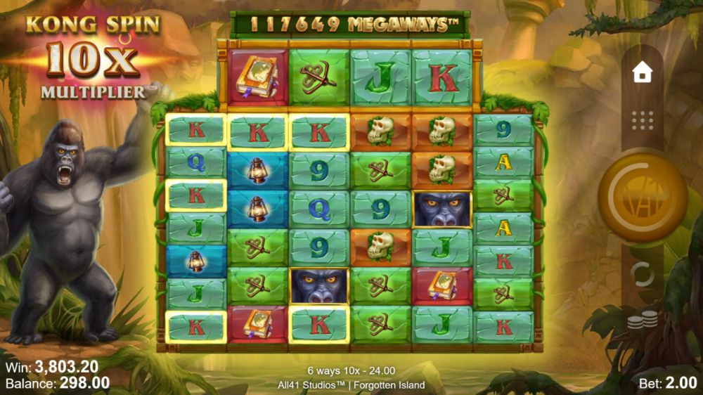 forgotten island slot by microgaming