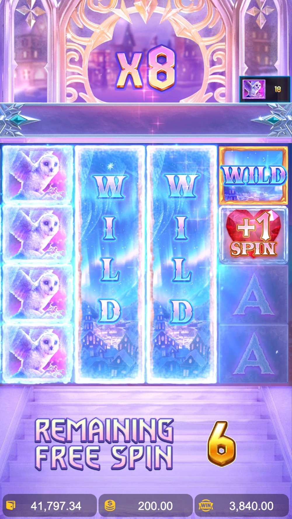 jack frosts winter infinity reels slot by pg soft