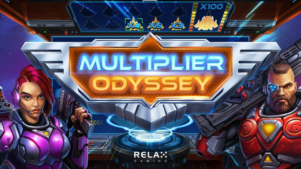 multiplier odyssey slot by relax gaming