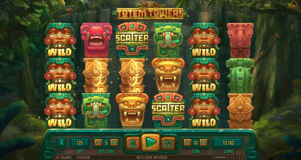 totem towers slot by habanero