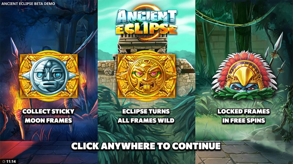 ancient eclipse slot by yggdrasil