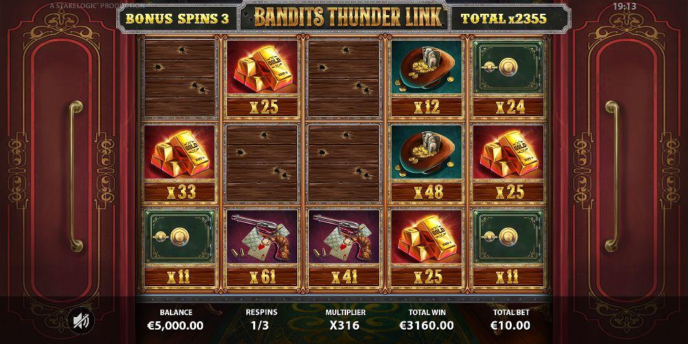 banmdits thunder link slot by stakelogic