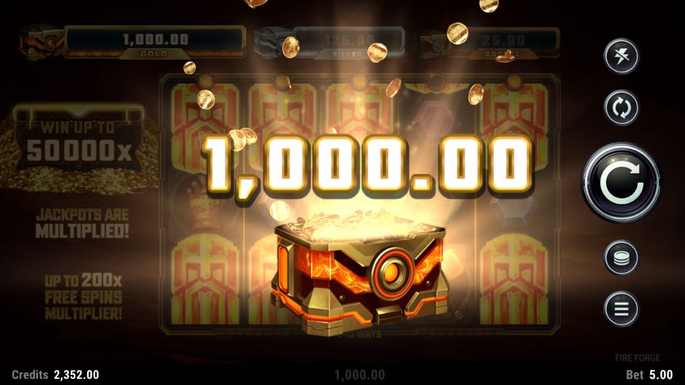 fire forge slot by microgaming