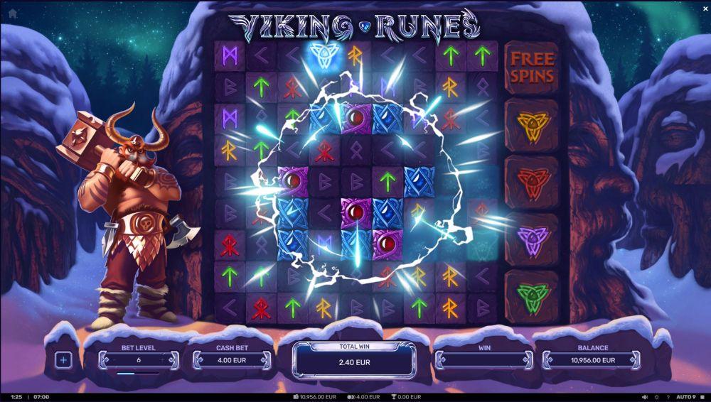 viking runes slot by yggdrasil