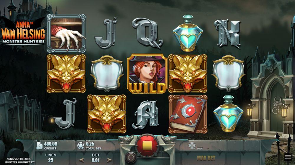Anna Van Helsing Monster Hunter Slot